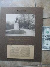 1909 Antique Advertising Calendar, Middlesex Insurance, Concord Revolutionary Wa