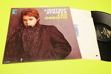 LOU CHRISTIE LP LIGHTNIN' STRIKES ORIG US 1966 NM !!!!!!!!!!!!!!!  TOOOPPPPP