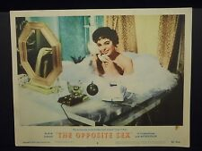 Joan Collins The Opposite Sex 1956 orig Lobby Card Fine Bubble Bath Cheesecake
