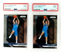INVEST Lot of 2 - 2018-19 Panini Prizm 280 Luka Doncic RC Rookie PSA 9 GEM MINT