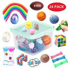 24 Pack Bundle Sensory Fidget Toys Set, Anti-stress Toys