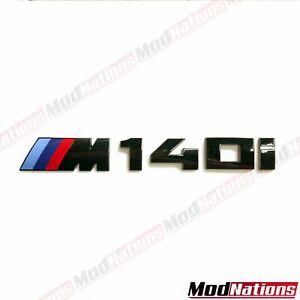 BMW 1 SERIES F20 F21 M140i BOOT BADGE GLOSS BLACK