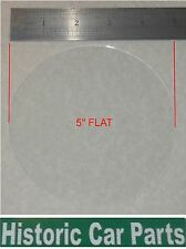 """FLAT GLASS Panel for 5"""" Speedometer or Rev Counter for TRIUMPH TR4A 2138cc 1965"""