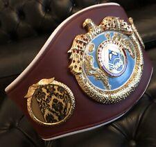 WBO championship belt Belt. Full size