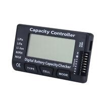 Batterie Kapazität Spannung Tester Prüfer für  LiPo Li-ion LiFe NiMH/NiCd Akku ▼