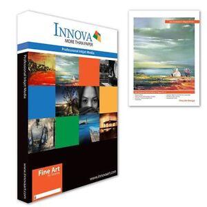 Innova Soft Textured Nat White Matte Inkjet Paper 315g A4/50 (IFA-12-A4-50)