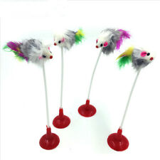 Lovely Funny Pet Cat Toys Feather False Mouse Kitty Cat Teaser Playing Game Toy