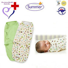 "Summer Infant SwaddleMe Swaddle 2-Pack (""Woodland Friends""
