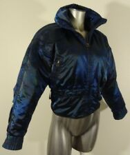 Obermeyer  Thermolite women's insulated belted snow ski winter jacket size 4