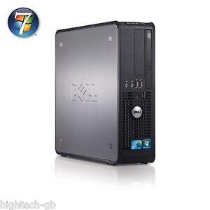 FAST DELL OPTIPLEX 780 INTEL Dual Core  4GB RAM 160GB HDD DVD Win7 WIFI Computer