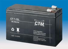 CTM CT 7-12 VdS Batterie - 7 Ah - 12 V