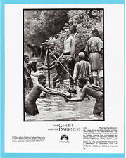 The Ghost and the Darkness Val Kilmer Movie Film Press Photo A