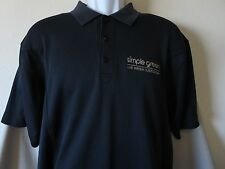 SIMPLE GREEN Black Polo Shirt Cleaner Household Industrial Cutter & Buck Medium