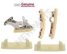 Audi A4 A5 A6 Quattro S6 S7 S8 Timing Chain Tensioner & Guides Rail KIT Genuine