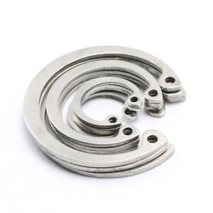 Ф8mm - Ф100mm Internal Retaining Ring Circlip Snap Ring 304 Stainless Steel