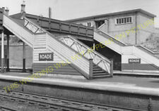 Roade Railway Station Photo. Wolverton to Busworth and Northampton Lines. (3)
