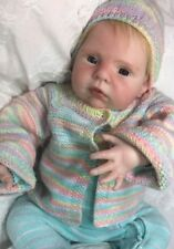 "Reborn Baby Girl ""Sarah"" - Doll Therapy for People with Alzheimer & Caregiver"