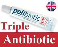 NEW 15g Triple Antibiotic Ointment Cream vs NEOSPORIN Acne Wounds 2 days UK 2019