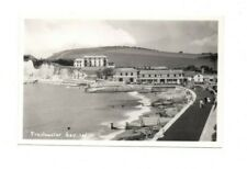 Isle of Wight - Freshwater Bay - Vintage Real Photo Postcard