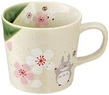 """Studio Ghibli """" My Neighbor Totoro """"Mug Cherry Blossom Mino Ware CHMM1 New Japan"""