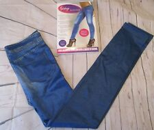 Jeggings sz L/XL (8-12) Denim Look by Sexy Skinnies Look Slimmer - As seen on TV