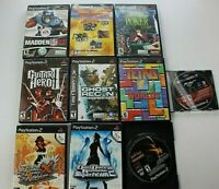 Lot of 10 Games PS2 PlayStation 2 - 10 Games See Pics / Description for Titles