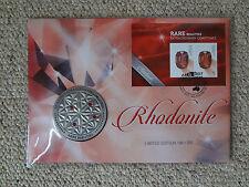 2017 Melbourne Stamp Exhibition, Rare Beauties PNC / Rhodonite Medallion.
