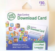 LeapFrog $30 AUD App Centre Game/Book Download Gift Card For LeapPad Leapster