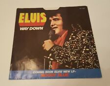 Elvis Presley Pledging My Love 45 rpm Picture Sleeve