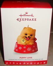 2016 PUPPY LOVE Pomeranian Dog ~ Hallmark Ornament NEW ~ Free Shipping