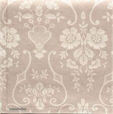 Tessitura Pardi 4x Napkins - Damasco Design - Natural Colour - 40X40 from Italy