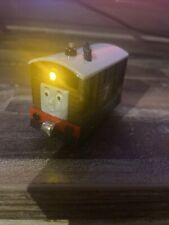 New listing Thomas Friends Take N Play Diecast Talking & Light Toby Train