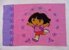 Dora the Explorer Pillowcase Double Sided Novelty Fabric Standard DOM1Q