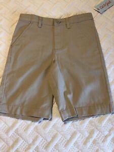 Cat & Jack School Uniform Shorts Khaki  NWT