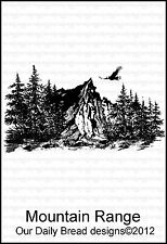 Our Daily Bread Designs Cling Stamp Mountain Range E383