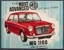 MG 1100 Car Sales Brochure June 1962 # H&E 6230