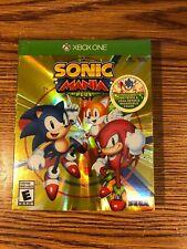 Sonic Mania Plus Xbox One Box Set The Hedgehog Sega Genesis BRAND NEW SEALED