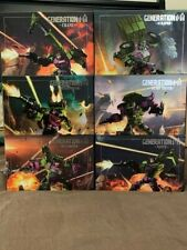 Generation Toy Gravity Builder Devastator Transformers Combiner Set Complete