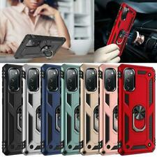 For Samsung Galaxy S20 FE Case Shockproof Ring Armour Phone Cover + Screen Guard