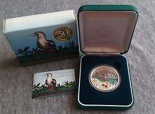 2005 Islas Cocos (Keeling), 50th aniversario 1 dólares moneda de plata 1oz