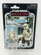 Star Wars The Vintage Collection Scarif Stormtrooper VC133 Kenner Hasbro Moc