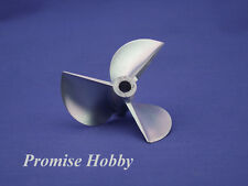 "3 blade 4818 CNC alu propeller dia 48mm pitch 86mm 1.8p for 3/16"" shaft rc boat"