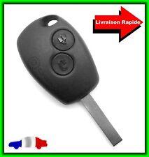 Coque Télécommande Plip Clé Renault Twingo/Modus/Clio/Megane/Espace/Trafic +Clé