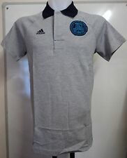 Real Madrid 2012/13 Authentic Polo Par Adidas Taille Adulte Large Neuf