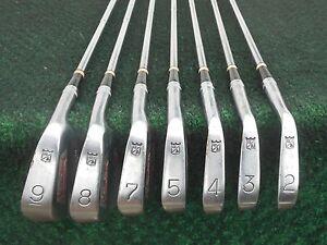 Vintage Walter Hagen International Irons 2 Thru 9 No 6 Iron Very Nice