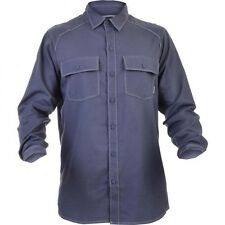 Mens Columbia Summit Watch L/S Solid Button Up Shirt Azul Blue Size Small S