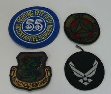 MILITARAIA : SET OF 4 US AIR FORCE PATCHES. (USED)   ......            REF: C119