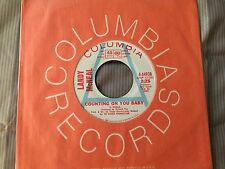 """LANDY MCNEAL Counting On You Baby / Stand Up 7"""" Columbia 1969 soul DJ 45 EX"""