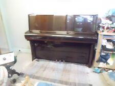 PIANO DROIT EN ACAJOU SATINÉ CHENONCEAU 114 - MARQUE RAMEAU A ACCORDER.