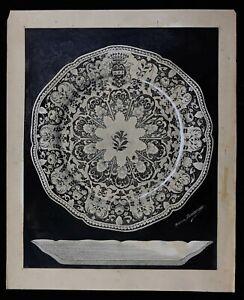 Maurice Deshpande (1867-1913) Dekoration D'Teller Coll. Gasnault Museum Limoges